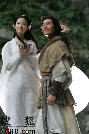 """《大汉天子3》黄晓明长胡子 再玩""""姐弟恋"""""""