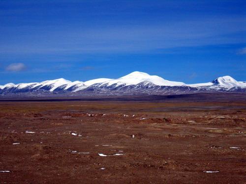 组图:海拔4800米的五道粱主测量点