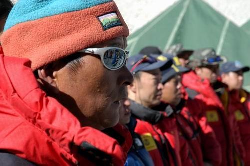 组图:珠峰交会测量
