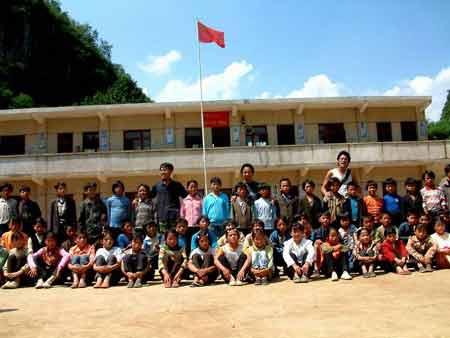 徐本禹和他的学生们