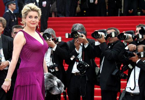 戛纳电影节上的性感美女们