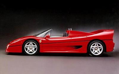 法拉利Ferrari 经典车型百年回顾
