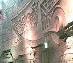 中国展馆内多媒体墙