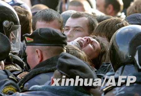 """白俄罗斯反对派威胁逼宫 乌反对派表示""""羡慕"""""""