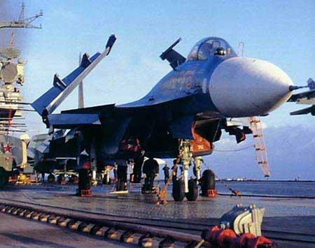 俄海军计划2010年后开始建造现代化航母(组图)