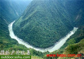 神秘的雅鲁藏布大峡谷(世界河流的第一大峡谷)