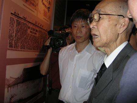 新闻频道 国际新闻 新闻人物:谢罪的日本老兵本多立太郎 日本谢罪老兵