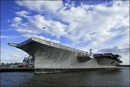 美国号航母已在大西洋被炸沉