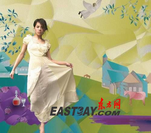 组图:江美琪32D大解放 妆出性感小女人