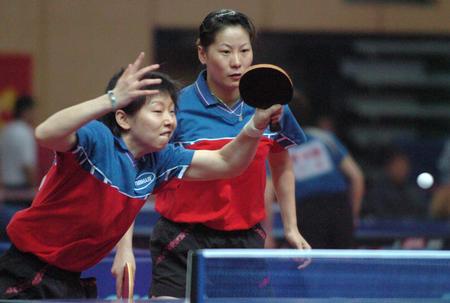 预赛:十运乒乓球女双图文孙晋/李菊v预赛中体育舞蹈单人铜牌考级图片
