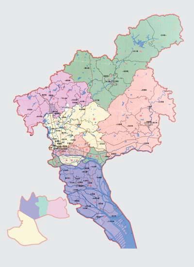 原广州市行政区划图图片