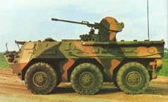 外电称中国研发新型战车 似美斯托瑞克战车(图)