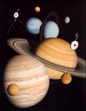 旅行者号苦行28年 将首次进入太阳系外空间(图)