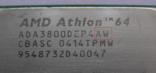 """理器的末尾两位字母是AW,它的含义是""""CG""""核心版本-最新AMD图片"""