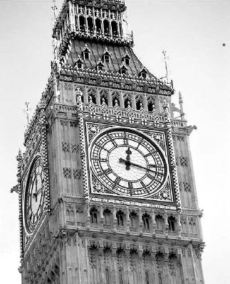 英国代表性建筑简笔画