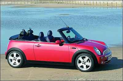 进口车创宝马系最低 mini老款跌到33.3万