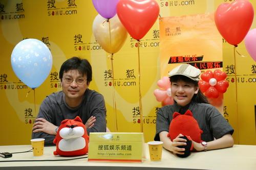 方刚亮与吴旭作客搜狐娱乐 谈论《上学路上》