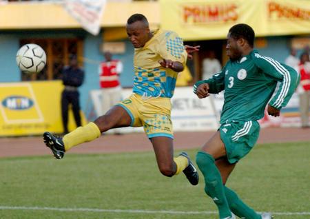 图文:非洲区预赛卢旺达平尼日利亚