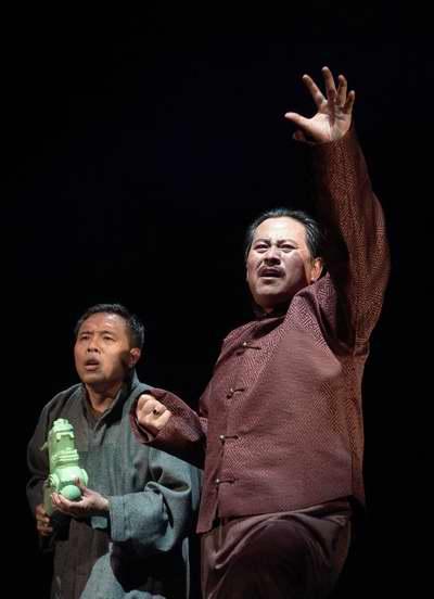 天津人艺演《望天吼》赢得观众盛赞