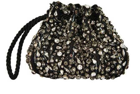 prive2005春夏系列黑色晚装包