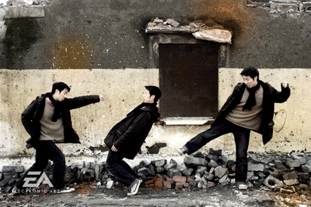 上海高校参赛照片(一)