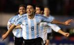 图文:南美阿根廷巴西巅峰对决 里克尔梅庆祝