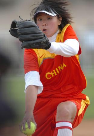 垒球:国际飞镖邀请赛中国队于汇莉投球日本图文叫什么图片