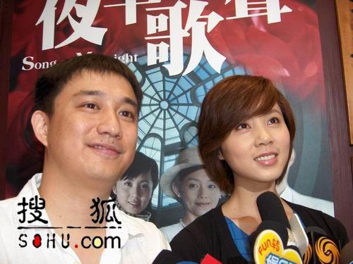 群星云集上海电视节-黄磊夫妇