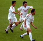 图文:世青赛中国2-1土耳其 国青功臣赵旭日