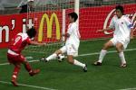 图文:世青赛中国2-1土耳其 国青队员赌枪眼