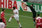 图文:世青赛中国2-1土耳其 对方门将出击