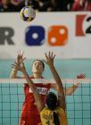 图文:瑞士女排精英赛 中国队败北屈居亚军