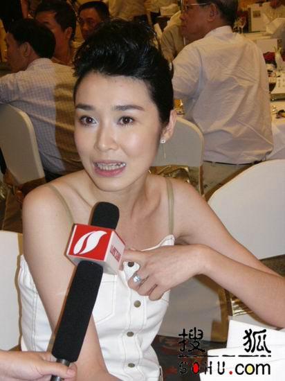 图:《长恨歌》上海新闻发布会-演员1