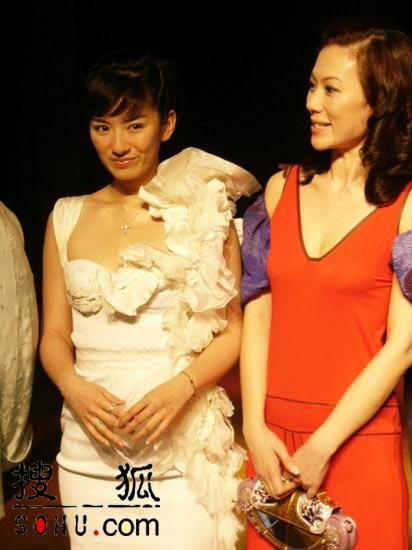 图:《长恨歌》上海新闻发布会-黄奕与张可颐