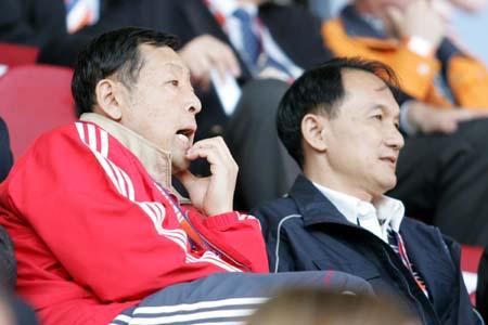 图文:国青赢得中乌之战 对手率先进球了