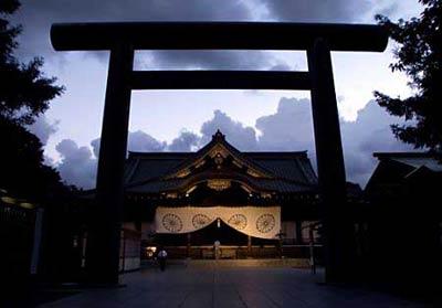 日本靖国神社 透着邪气的菜刀(组图)