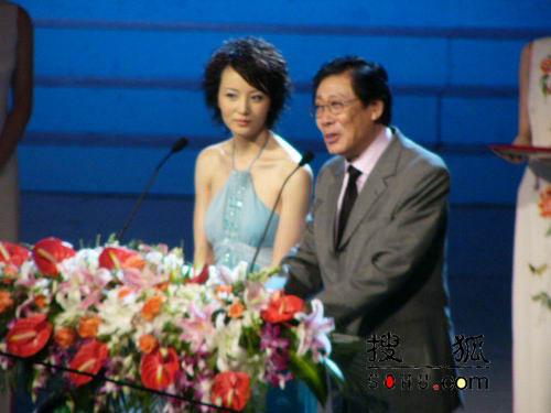 组图:第11届上海电视节颁奖礼-焦晃陶红