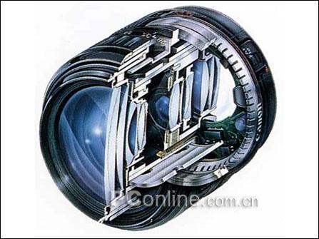 配备usm对焦技术的镜头内部结构