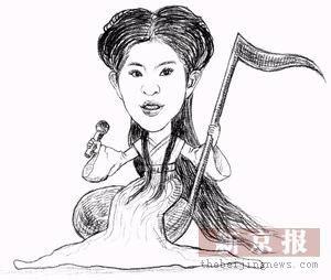 每日肖像:刘亦菲