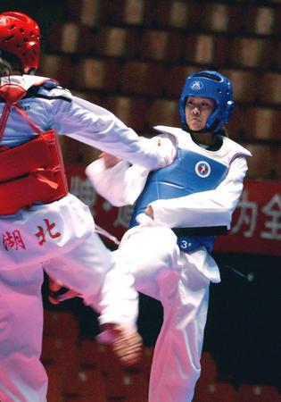 [十运会前奏](2)跆拳道预赛郑州站开赛