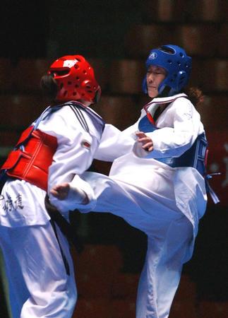 [十运会前奏](5)跆拳道预赛郑州站开赛
