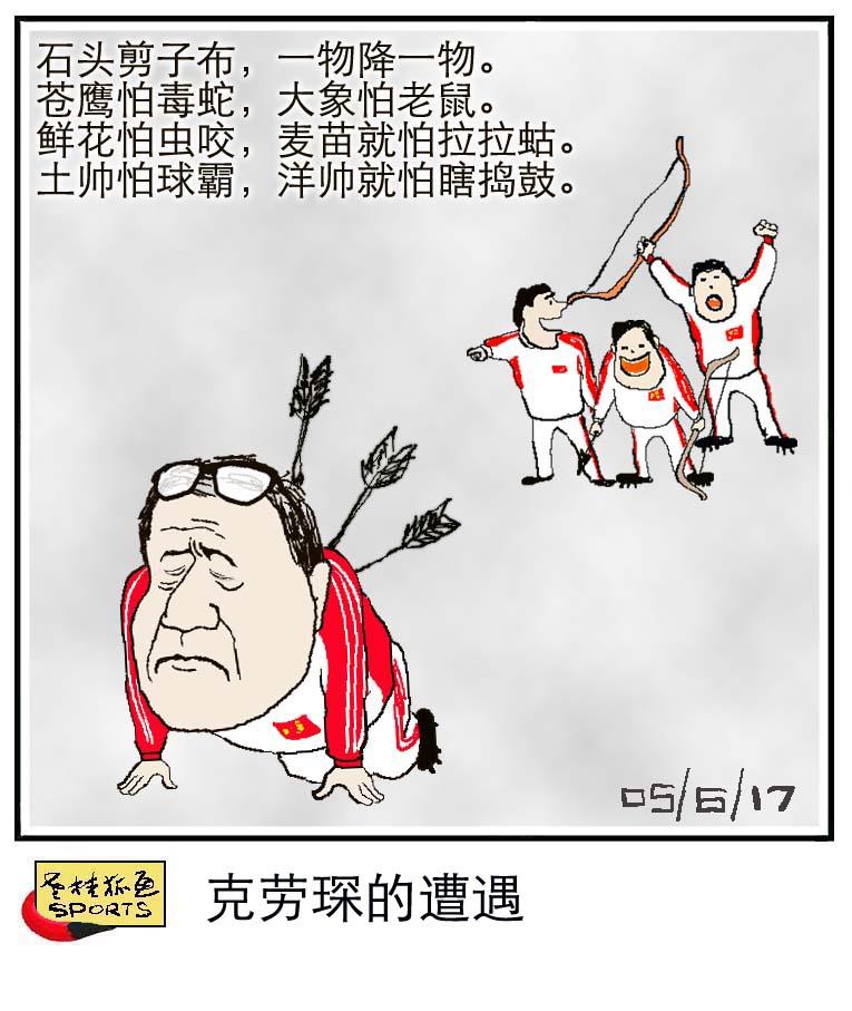 老桂狐画SPORTS:克劳琛的遭遇
