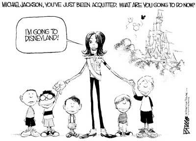 漫画家围攻杰克逊 一致认定天皇巨星有罪