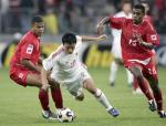 图文:世青赛中国4-1巴拿马 陈涛突破对方防守