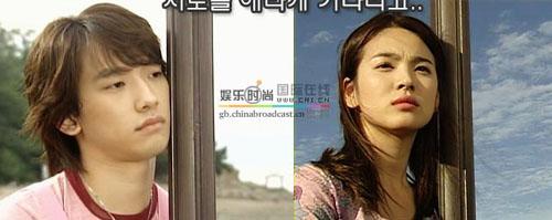 趣看韩剧《浪漫满屋》 李英宰宋慧乔相似表情