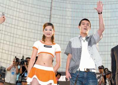 《头文字D》亮相京城 百万歌迷掏腰包挺杰伦