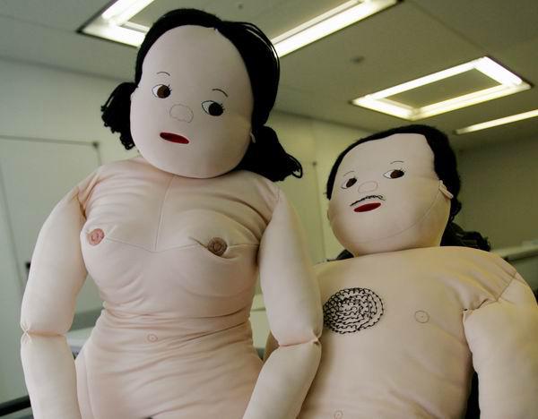 日本性教育从娃娃抓起图