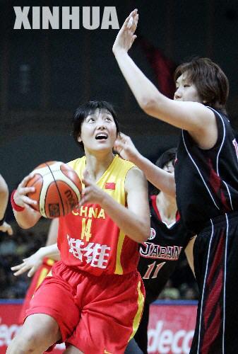 组图:女篮亚锦赛