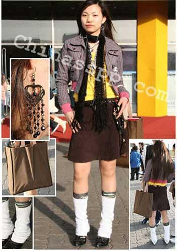头最炫的165cm美女 时尚搭配摩登秀图片
