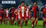 图文:国家队备战中哥之战 国足在广州开练